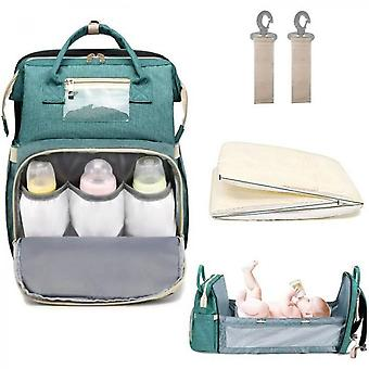 Three-in-one Diaper Bag Portable Travel Baby Cradle Foldable