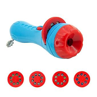 Taschenlampe Projektor mit Dias Bett Zeit Geschichte - frühe pädagogische Spielzeug
