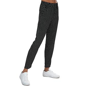 Pantalón De Lunares Vero Moda Saga Mujer en Negro