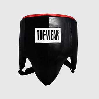 Tuf Wear Läder Pro Stil Ljumskskydd Svart