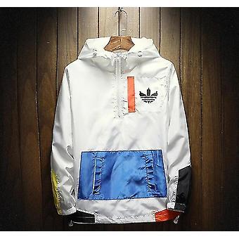 Waterproof Hooded Zipper Jacket