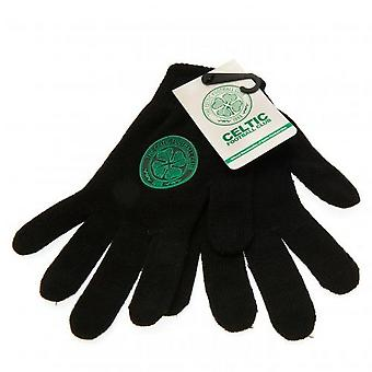 Celtic FC Unisex Adults Knitted Gloves