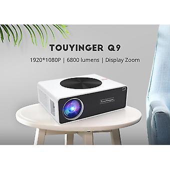 LED קולנוע ביתי 1080P מקרן וידאו FULL HD 6800