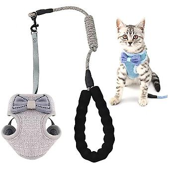 Adjustable Breathable Mesh Cat Harness