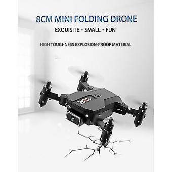 Télécommande hélicoptères f10 mini drone 4k hd caméra wifi fpv pression d'air altitude tenir pliable quadcopter|rc quadcopter