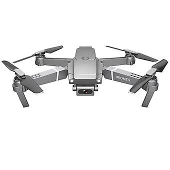 Drone X Pro 2.4g Selfie Wifi Fpv mit 1080p Hd Kamera, faltbare Fernbedienung Quadcopter Rtf Grau