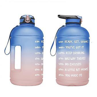 3.78l Two-color Gradient Sports Bottle