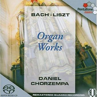 Bach/Liszt - Organ Works by Bach & Liszt [SACD] USA import