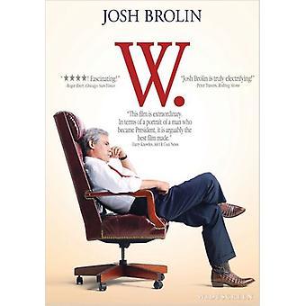 Importación de USA de W [DVD]