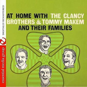Clancy Brothers & Tommy Makem - thuis met de Clancy Brothers Tommy Makem & het [CD] USA import