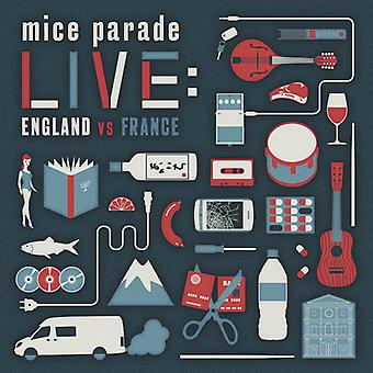 Mice Parade - Live: England vs. France [CD] USA import
