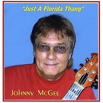 Johnny McGee - gewoon een Florida Thang [CD] USA import