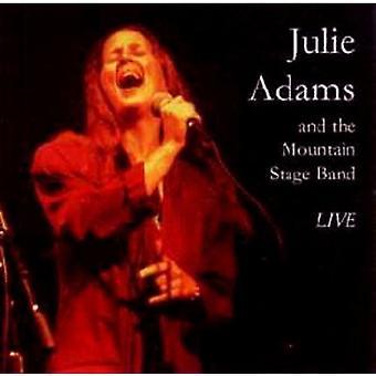 Julie Adams - Julie Adams & Mountain Stage Band (Live) [CD] USA import
