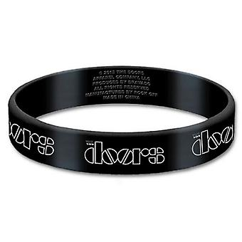 Official The Doors Wristband classic band Logo jim Morrison new 17mm Rubber