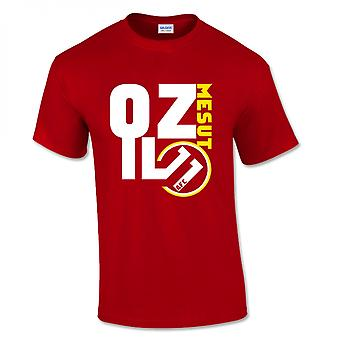 Mesut Ozil Arsenal su T-Shirt (Red)