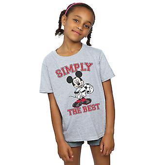 Disney Mädchen Mickymaus einfach das beste T-Shirt