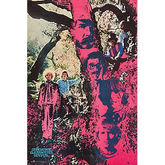 Creedence Clearwater Revival CCR Trippy Poster Print