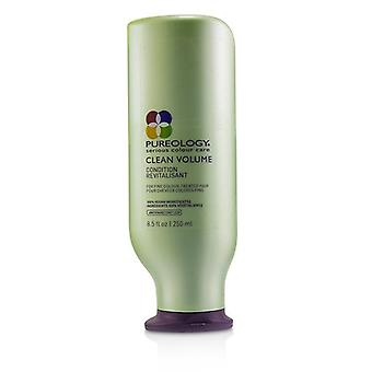 Pureology Clean Volume Condition (for Fine Colour-treated Hair) - 250ml/8.5oz