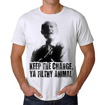 Home Alone Ya Filthy Animal Men's White T-shirt