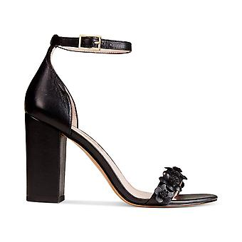 Avec Les Filles Womens Michele Leather Open Toe Special Occasion Ankle Strap ...