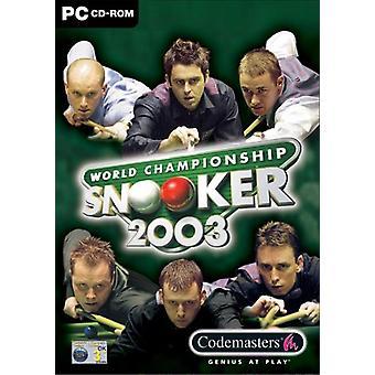 World Championship snooker 2003 (PC)-ny