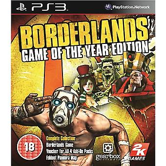 Borderlands Game of the Year Edition (PS3) - Nouveau