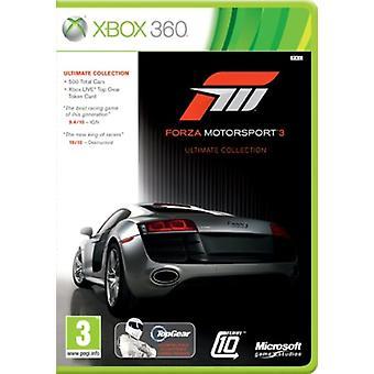 Forza Motorsport 3 - Ultimate Edition (Xbox 360) - Neu