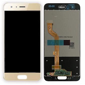 הצגת יחידת LCD מלאה מגע חלק רזרבי עבור כבוד Huawei 9 תיקון זהב חדש