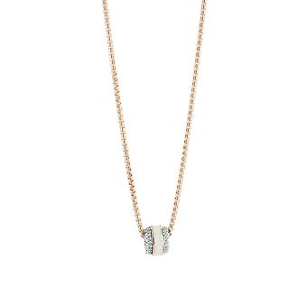 Esprit Collection Damen Kette Collier Silber Rosé ALGEA ELNL92896B420