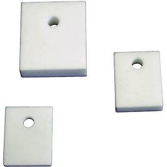 Arandela de aislamiento (L x W) 25 mm x 21 mm apto para QuickCool al 218 5061-00559C 1 PC