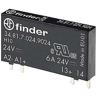 Finder SSR 34.81.7.060.9024 kytkentä jännite (maks.): 33 V DC satunnainen Kytke päälle 1 PC (s)