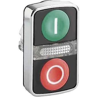 Schneider Electric Harmony ZB4BW7A3741 Double head pushbutton Green, Red 1 pc(s)