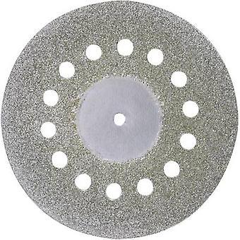 Proxxon Micromot 28 846 Diamond-Coated Cutting Discs with Cooling Holes