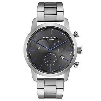 Kenneth Cole New York men's watch wristwatch stainless steel KC50053004