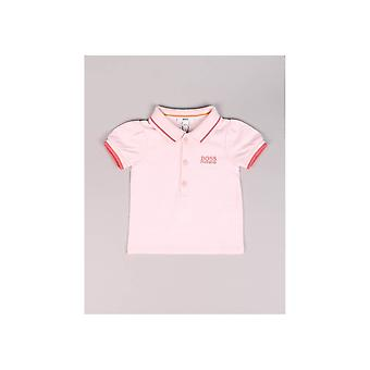 Boss Baby Trimmed Collar Polo