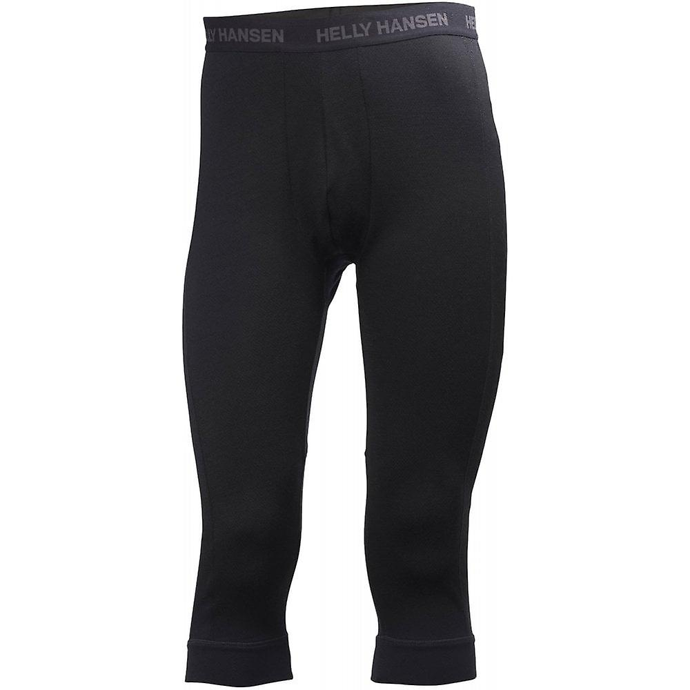 f6cd4da3 Helly Hansen HH Lifa Merino 3/4 Boot Top Pant - Black | Fruugo