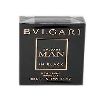 Bvlgari mand i sort barbersæbe 100g