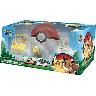 Pokemon TCG Pikachu och Eevee Poké Ball Collection