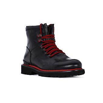 Exton crust black shoes
