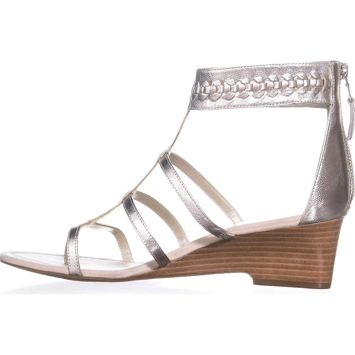 Ralph by Ralph Lauren Womens Meira Leather Open Toe Casual Gladiator Sandals W6Psa