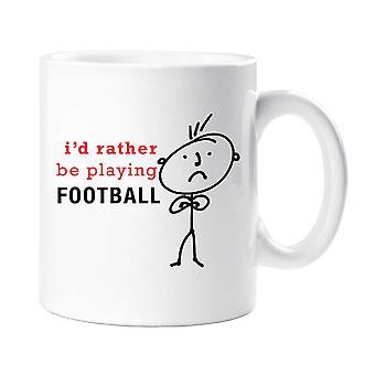 Męskie I raczej będzie grać piłki nożnej kubek
