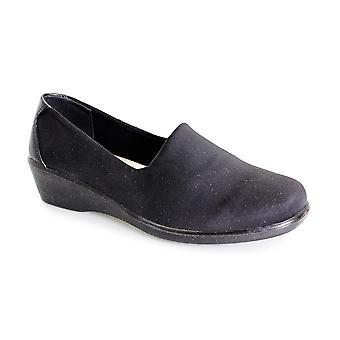 Lunar Nicky Elasticated Comfort Shoe