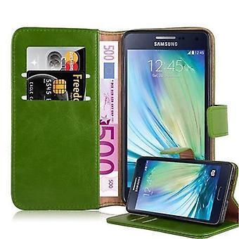 Cadorabo sag for Samsung Galaxy A5 2015 sag sag dække - telefon sag med magnetisk lås, stå funktion og kortrum - Sag Cover Beskyttende sag Bog Folding Style