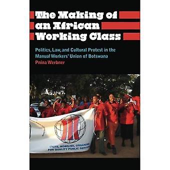 Skapandet av en afrikansk arbetarklassen: politik, lag och kulturella Protest i manuell Workers' Union av Botswana...