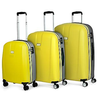 Game complete Set of three suitcases Trolley Jaslen 56500