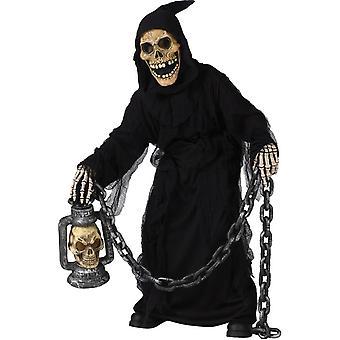 Skull Ghoul Child Costume