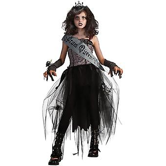 Costume enfant de zombie Prom Queen