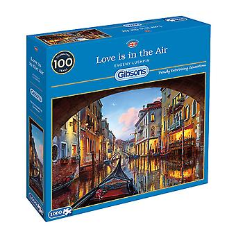 Gibsons Love is in The Air Jigsaw Puzzle (1000 pezzi)