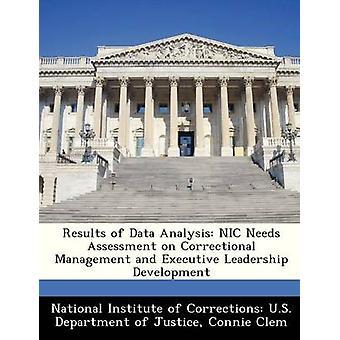 Resultaten van gegevensanalyse NIC behoeften op correctionele Management en Executive Leadership Development door het Nationaal Instituut voor correcties U.S.