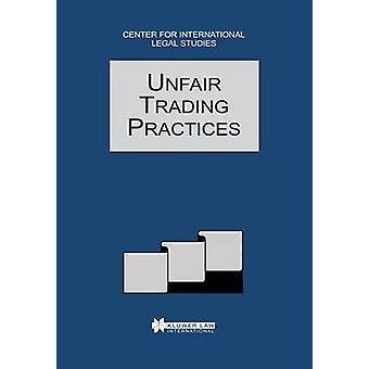 Anuario de derecho comparado de los negocios internacionales injustas 1996 por Campbell y Dennis